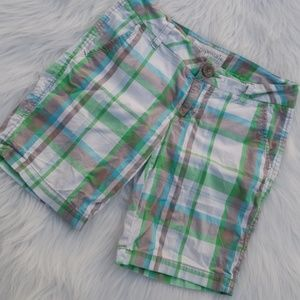 Pants - Aeropostale Plaid Bermuda Shorts